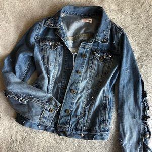 Sunset & Spring Denim Jacket